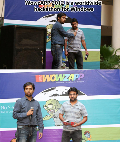 WowzAPP is a worldwide hackathon for Windows